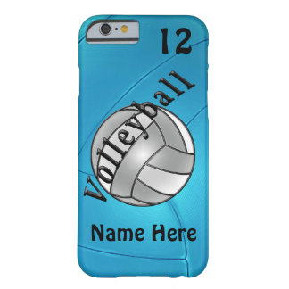 Coque iPhone 6 Barely There iPhone personnalisé de volleyball 6 cas pour elle