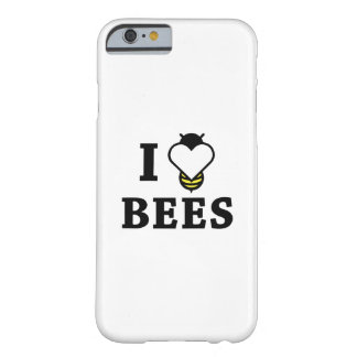 Coque iPhone 6 Barely There J'aime des abeilles