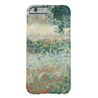 Coque iPhone 6 Barely There Jardin de Vincent van Gogh | en fleur, Arles, 1888