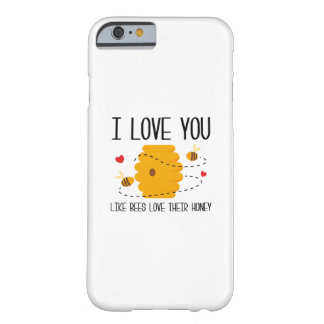 Coque iPhone 6 Barely There Je t'aime