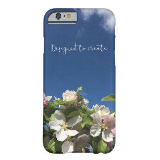 Coque iPhone 6 Barely There Joli cas inspiré de l'iphone 6 de ciel et de fleur