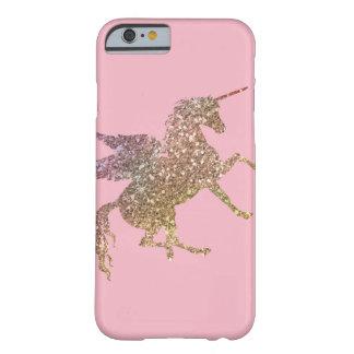 Coque iPhone 6 Barely There Jolie licorne de vol d'étincelle de parties