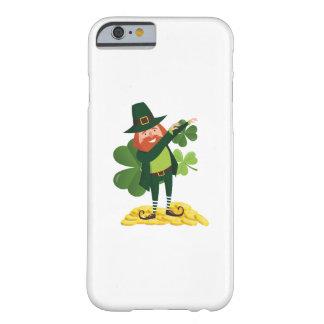 Coque iPhone 6 Barely There Jour de la Saint Patrick tamponnant de limande