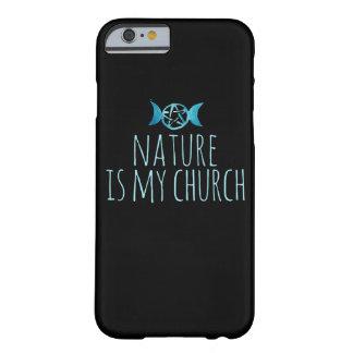 Coque iPhone 6 Barely There La nature est mon église