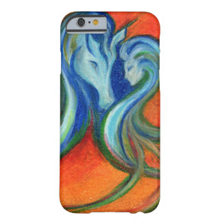 Coque iPhone 6 Barely There Lac de Fyrelyte, pour l'amour d'un cheval spécial