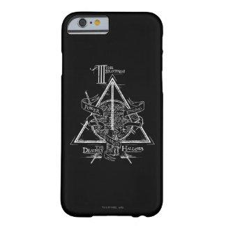 Coque iPhone 6 Barely There Le charme | de Harry Potter DE MORT SANCTIFIE le