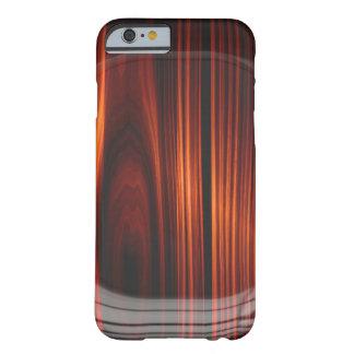 Coque iPhone 6 Barely There Le cool a verni la caisse en bois de l'iPhone 7 de