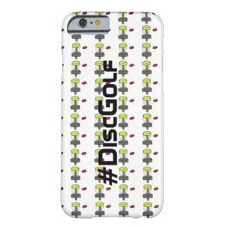 Coque iPhone 6 Barely There Le #DiscGolf Iphone 6 ou couverture de téléphone