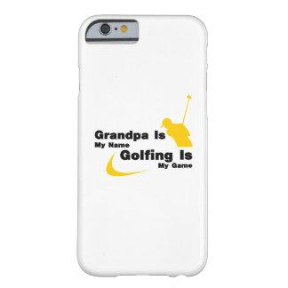 Coque iPhone 6 Barely There Le golf le grand-papa que drôle soit mon jouer au