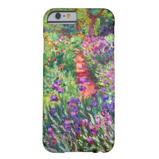 Coque iPhone 6 Barely There Le jardin d'iris par Claude Monet