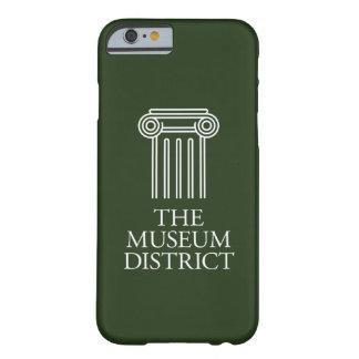 Coque iPhone 6 Barely There Le logo de secteur de musée