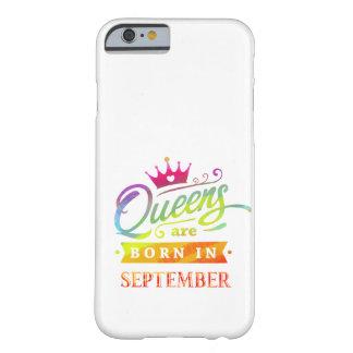 Coque iPhone 6 Barely There Le Queens sont en septembre cadeau d'anniversaire