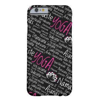 Coque iPhone 6 Barely There Le yoga pose des noms Sanskrit Namaste d'Asanas