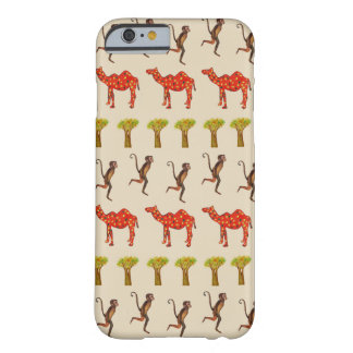 Coque iPhone 6 Barely There Les animaux africains modèlent l'iPhone 6/6s, à