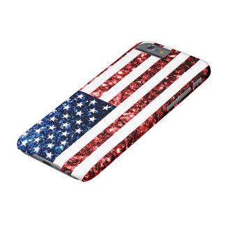 Coque iPhone 6 Barely There Les Etats-Unis marquent le rouge et le bleu