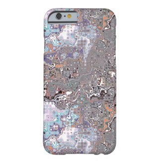 Coque iPhone 6 Barely There Les pastels soustraient le chaos
