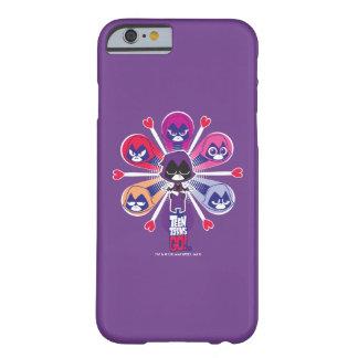 Coque iPhone 6 Barely There Les titans de l'adolescence vont ! Emoticlones de