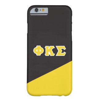 Coque iPhone 6 Barely There Lettres de Grec du sigma   de Kappa de phi