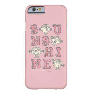 Coque iPhone 6 Barely There Lettres de soleil