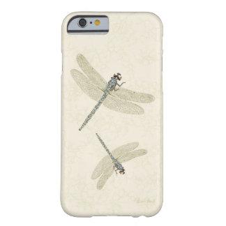 Coque iPhone 6 Barely There Libellules incrustées de bijoux pour tous styles