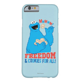 Coque iPhone 6 Barely There Liberté et biscuits pour tous !