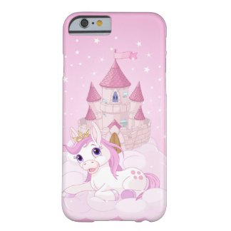 Coque iPhone 6 Barely There Licorne et château