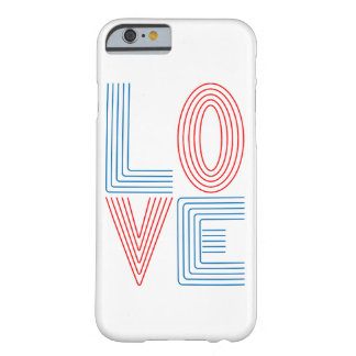 Coque iPhone 6 Barely There Ligne d'amour