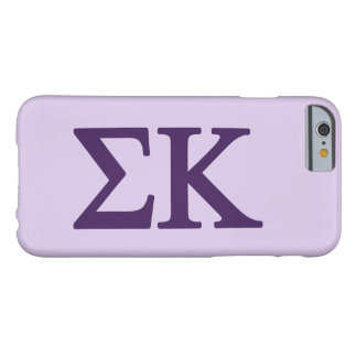 Coque iPhone 6 Barely There Logo de Lil de Kappa de sigma grand