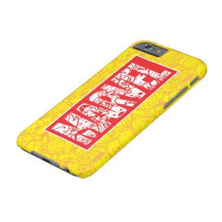 Coque iPhone 6 Barely There Logo de merveille de Kawaii avec le motif de