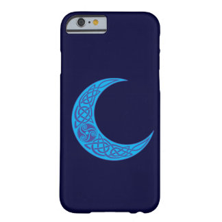 Coque iPhone 6 Barely There Lune bleue celtique