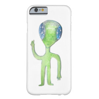 Coque iPhone 6 Barely There M. Alien Phone Case