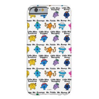 Coque iPhone 6 Barely There M. Men et petits noms de caractère de la Mlle |