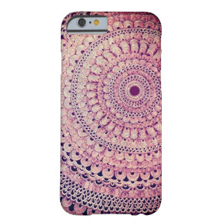 Coque iPhone 6 Barely There mandala