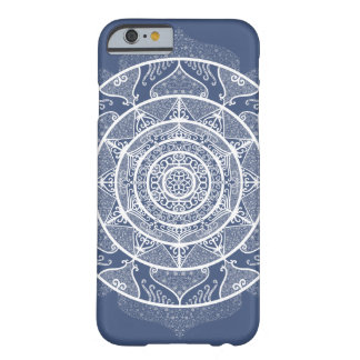 Coque iPhone 6 Barely There Mandala de nuit