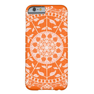 Coque iPhone 6 Barely There Mandala de pavot