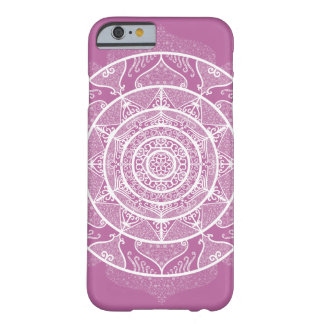 Coque iPhone 6 Barely There Mandala de trèfle