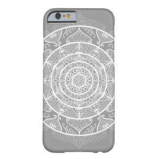 Coque iPhone 6 Barely There Mandala en pierre