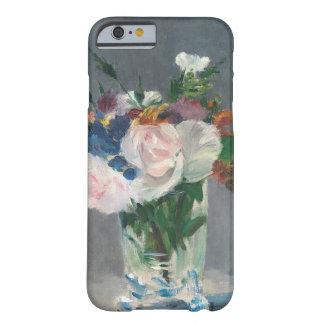 Coque iPhone 6 Barely There Manet | fleurit dans un vase en cristal, c.1882