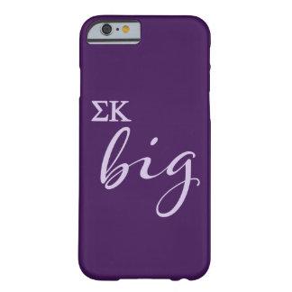 Coque iPhone 6 Barely There Manuscrit de Kappa de sigma grand