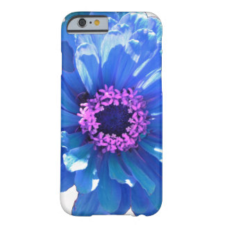 Coque iPhone 6 Barely There Marguerite bleue
