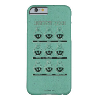 Coque iPhone 6 Barely There MARVIN le diagramme actuel d'humeur de MARTIAN™