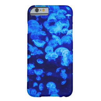 Coque iPhone 6 Barely There Méduses bleues