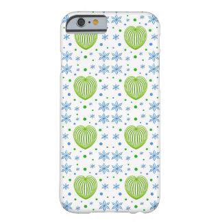 Coque iPhone 6 Barely There Mélange de coeur et de fleur
