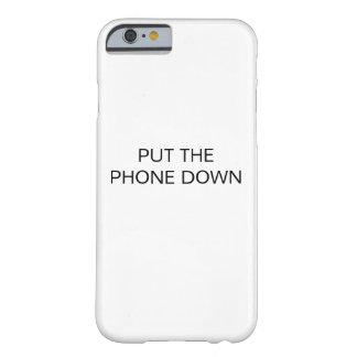COQUE iPhone 6 BARELY THERE METTEZ LE TÉLÉPHONE VERS LE BAS