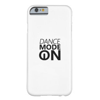 Coque iPhone 6 Barely There Mode de danse de cadeau de danse dessus