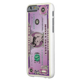 Coque iPhone 6 Barely There «Money Is Love» case iPhone