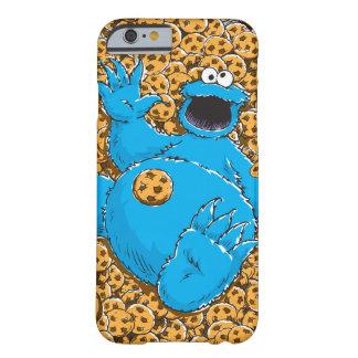 Coque iPhone 6 Barely There Monstre vintage et biscuits de biscuit