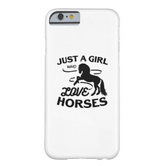 Coque iPhone 6 Barely There Monte de cadeaux d'amants de cheval de tour qui