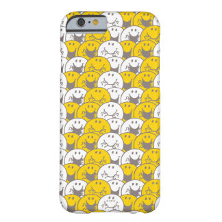 Coque iPhone 6 Barely There Motif de clignotant de sourires de M. Happy |