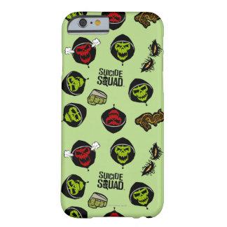 Coque iPhone 6 Barely There Motif de Croc Emoji de tueur du peloton   de
